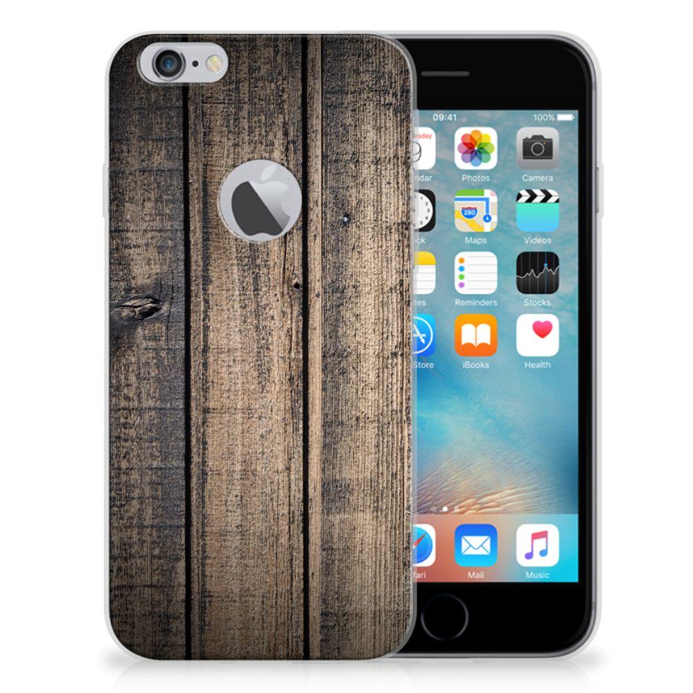 Apple iPhone 6 Plus   6s Plus Bumper Hoesje Steigerhout