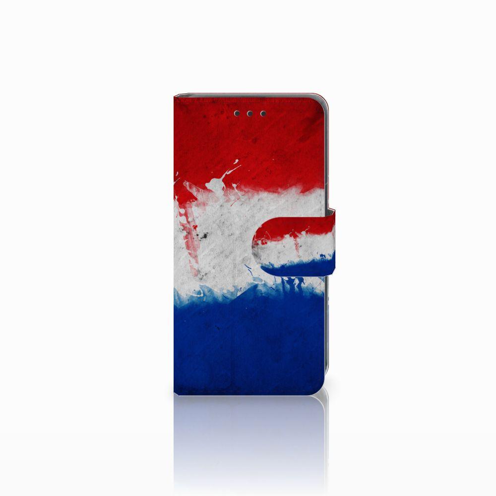 Nokia Lumia 630 Uniek Boekhoesje Opbergvakjes Nederlandse Vlag