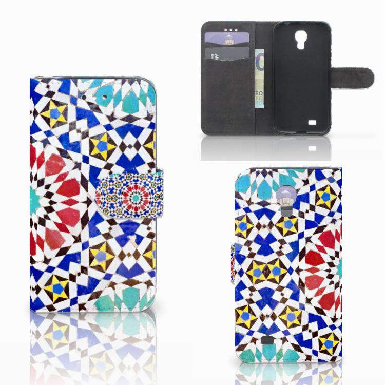 Samsung Galaxy S4 i9500 Uniek Hoesje Mozaïek