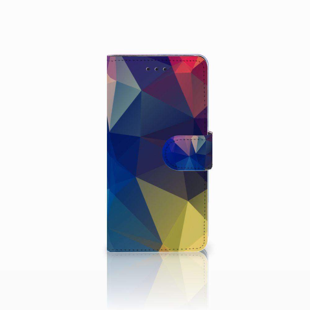 Huawei Y5 2018 Bookcase Polygon Dark