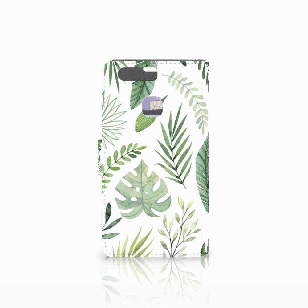 Huawei P9 Plus Hoesje Leaves