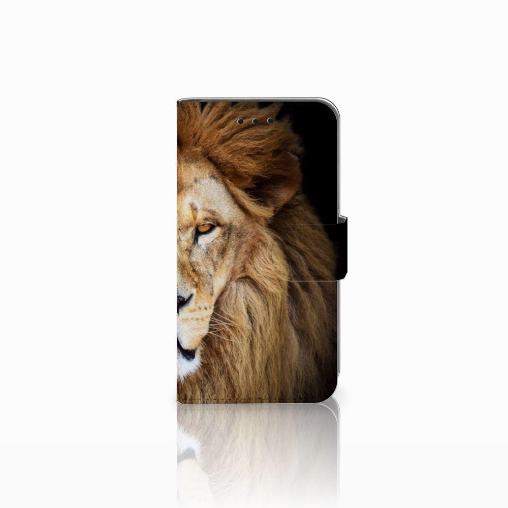 Microsoft Lumia 550 Boekhoesje Design Leeuw