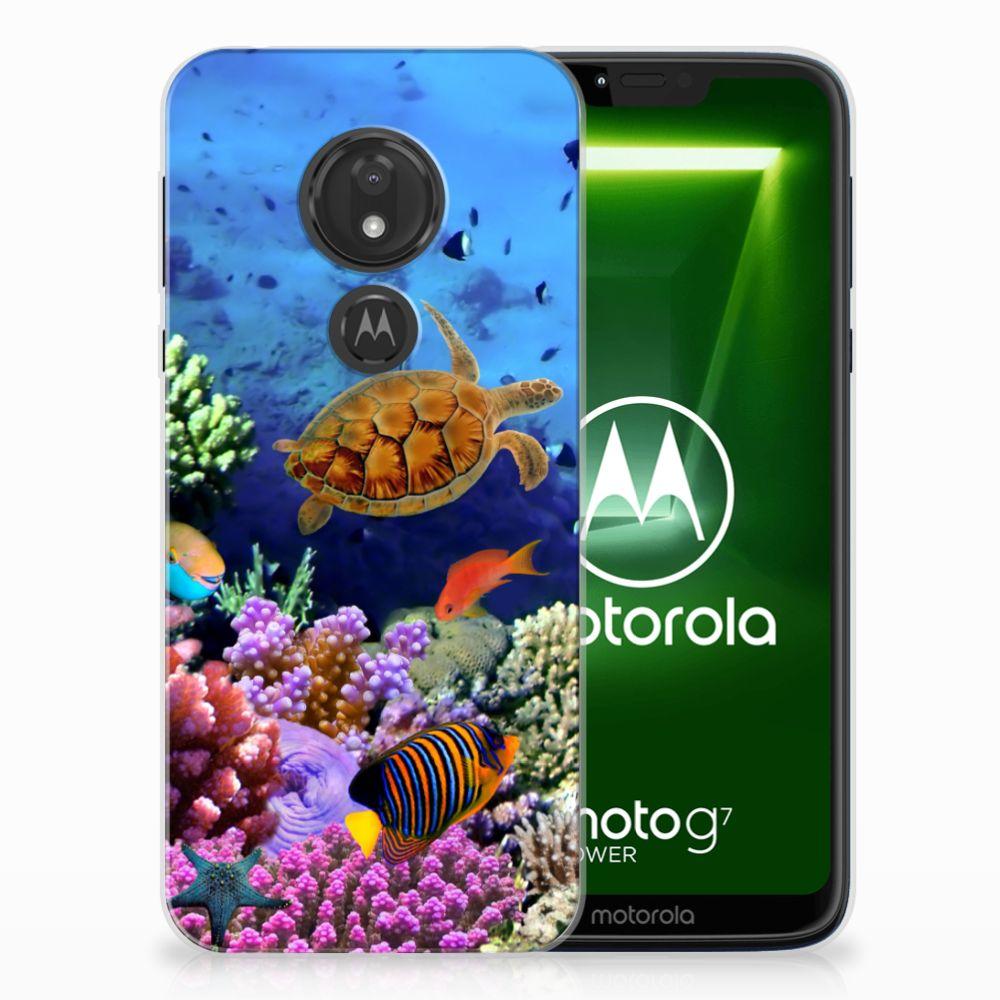 Motorola Moto G7 Power TPU Hoesje Design Vissen