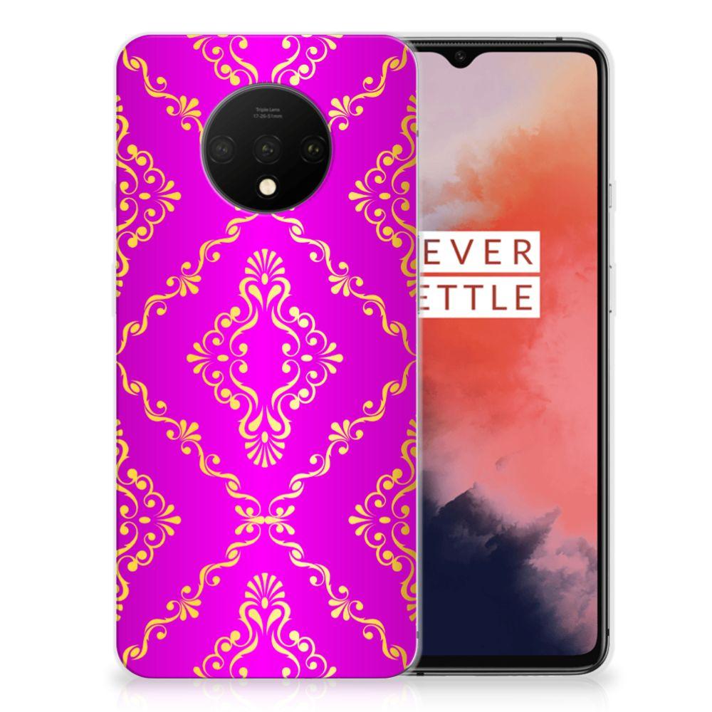 Siliconen Hoesje OnePlus 7T Barok Roze