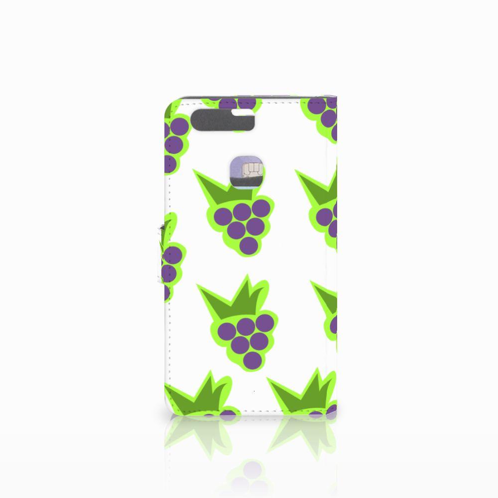 Huawei P9 Plus Book Cover Druiven