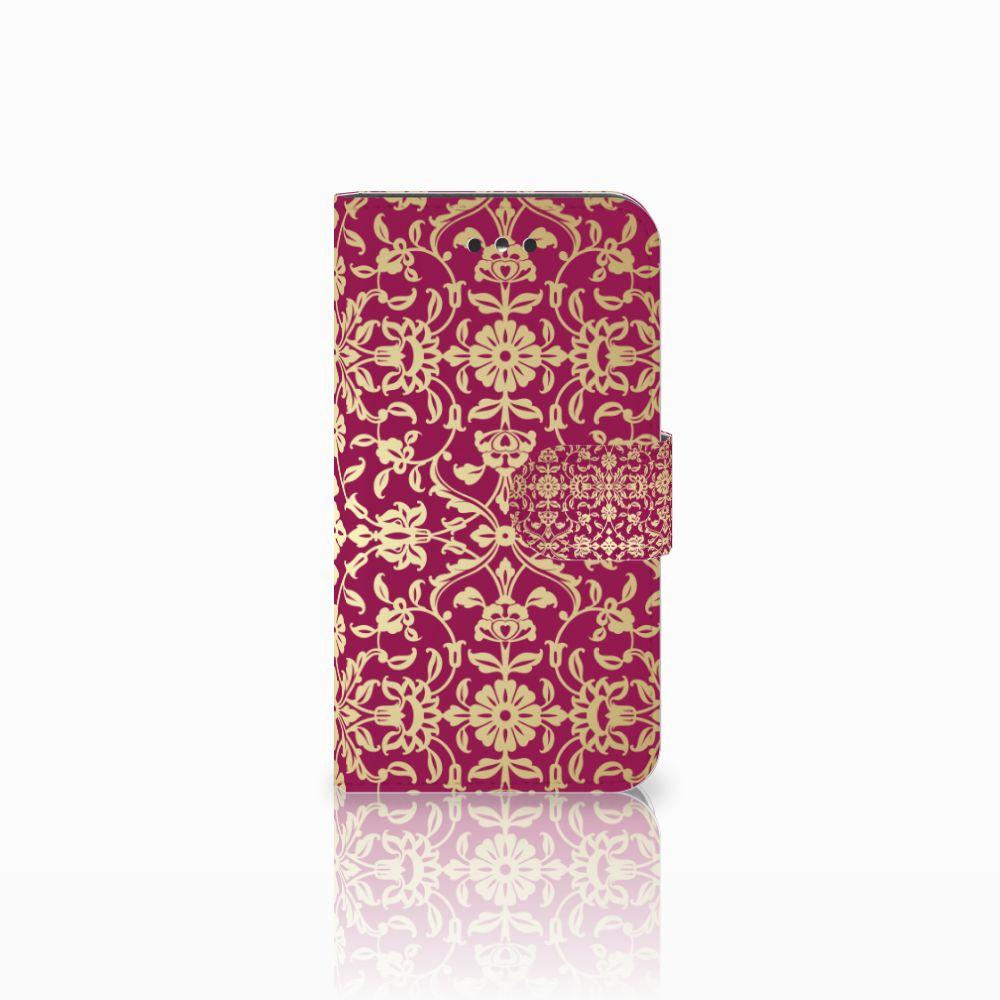 Nokia 1 Boekhoesje Design Barok Pink