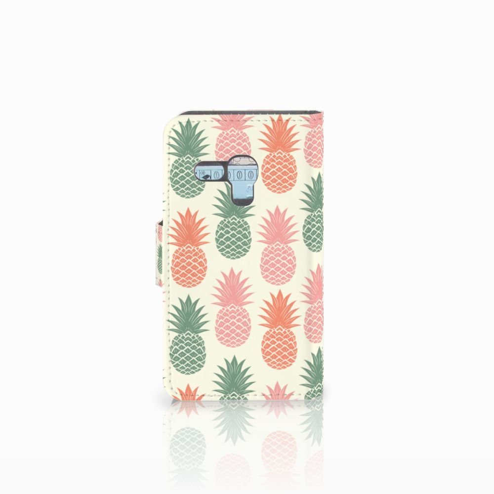 Samsung Galaxy S3 Mini Book Cover Ananas