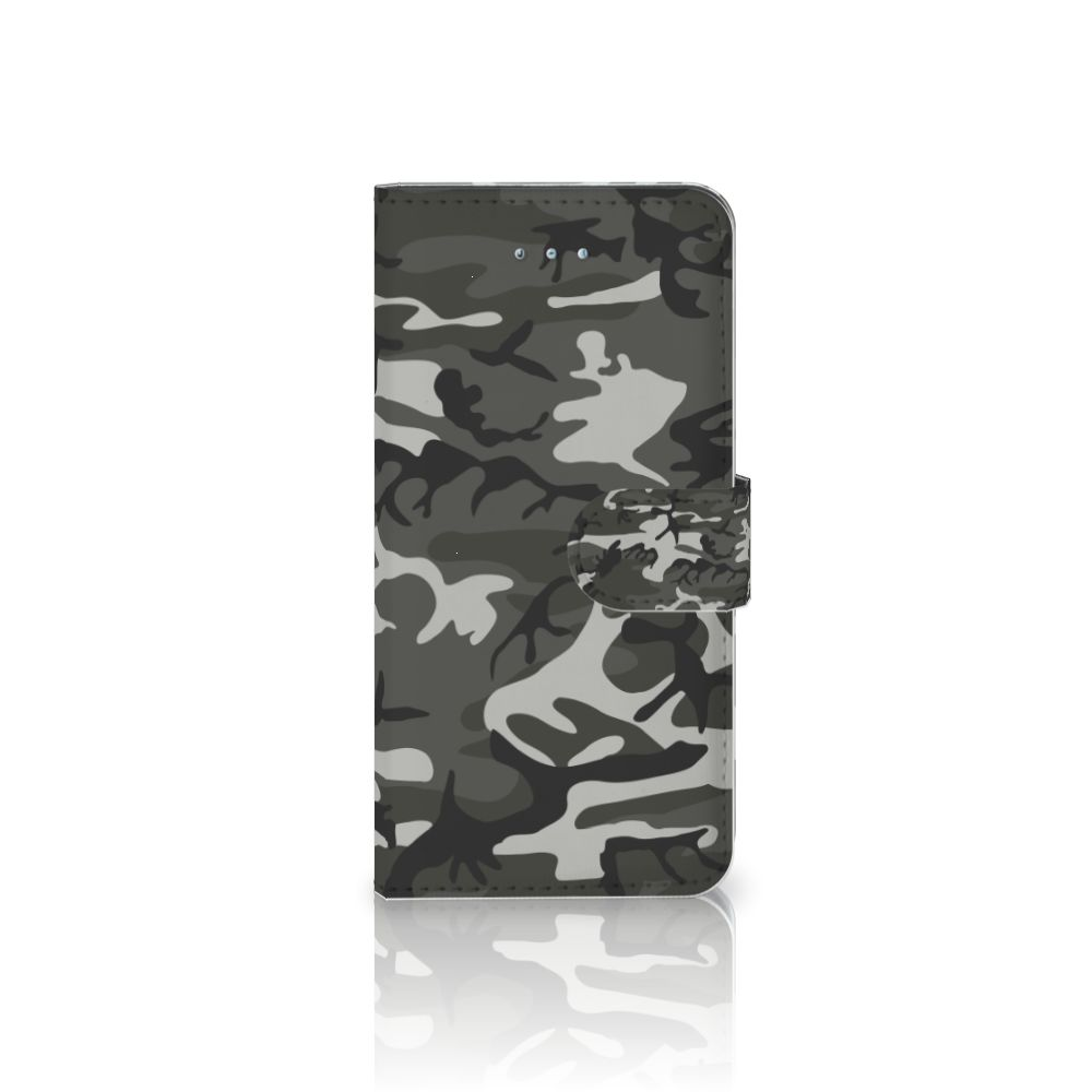 Honor 4A | Y6 Uniek Boekhoesje Army Light