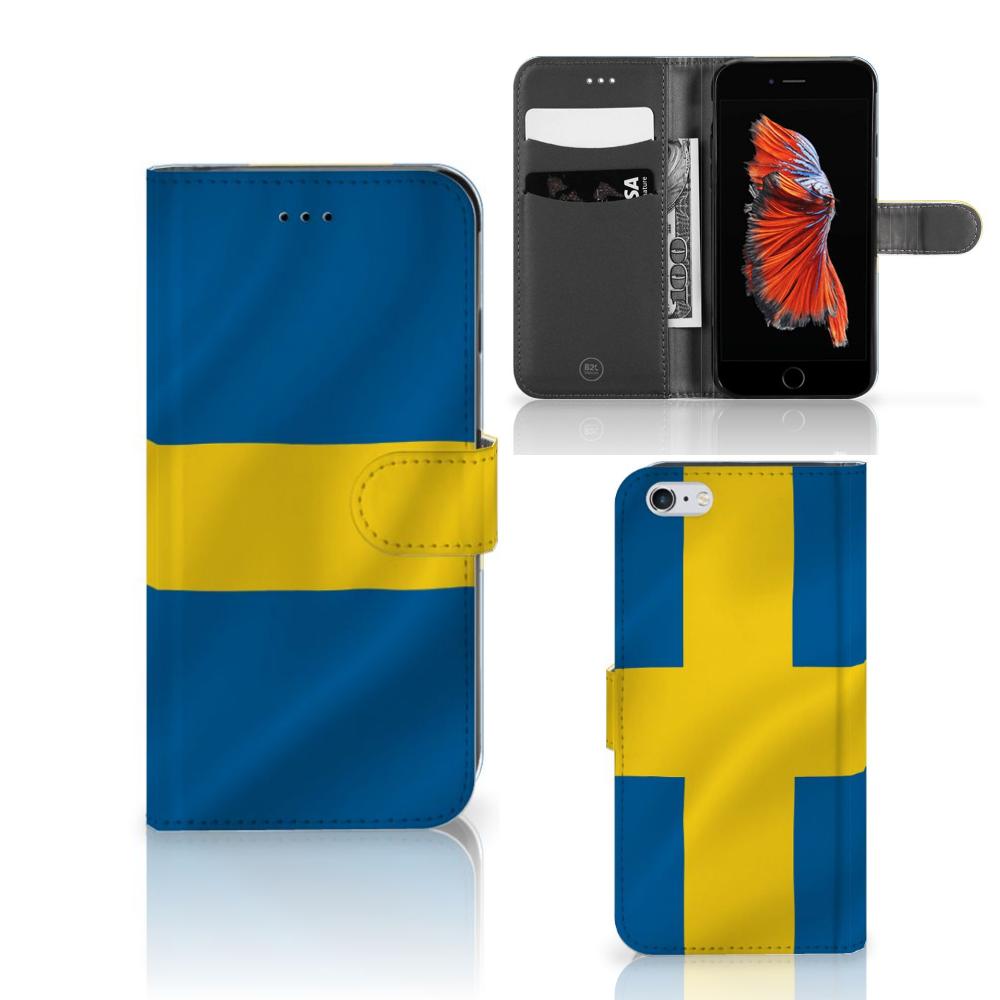 Apple iPhone 6 Plus | 6s Plus Bookstyle Case Zweden