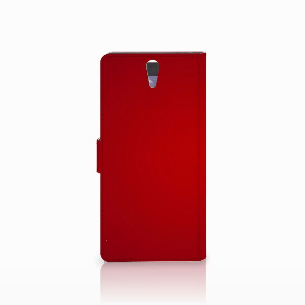 Sony Xperia C5 Ultra Wallet Case met Pasjes Liefde