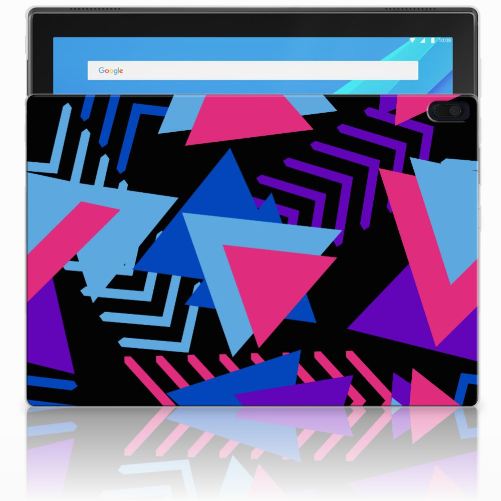 Lenovo Tab 4 10.1 Back Cover Funky Triangle