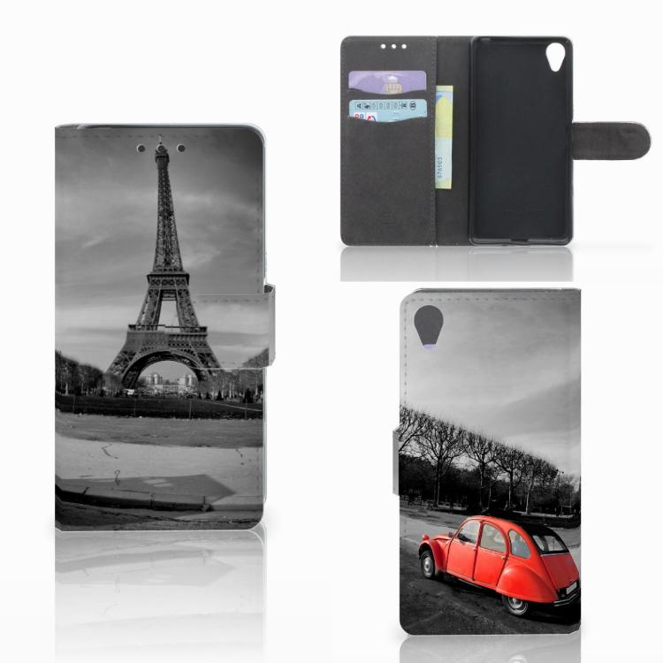Sony Xperia X Flip Cover Eiffeltoren