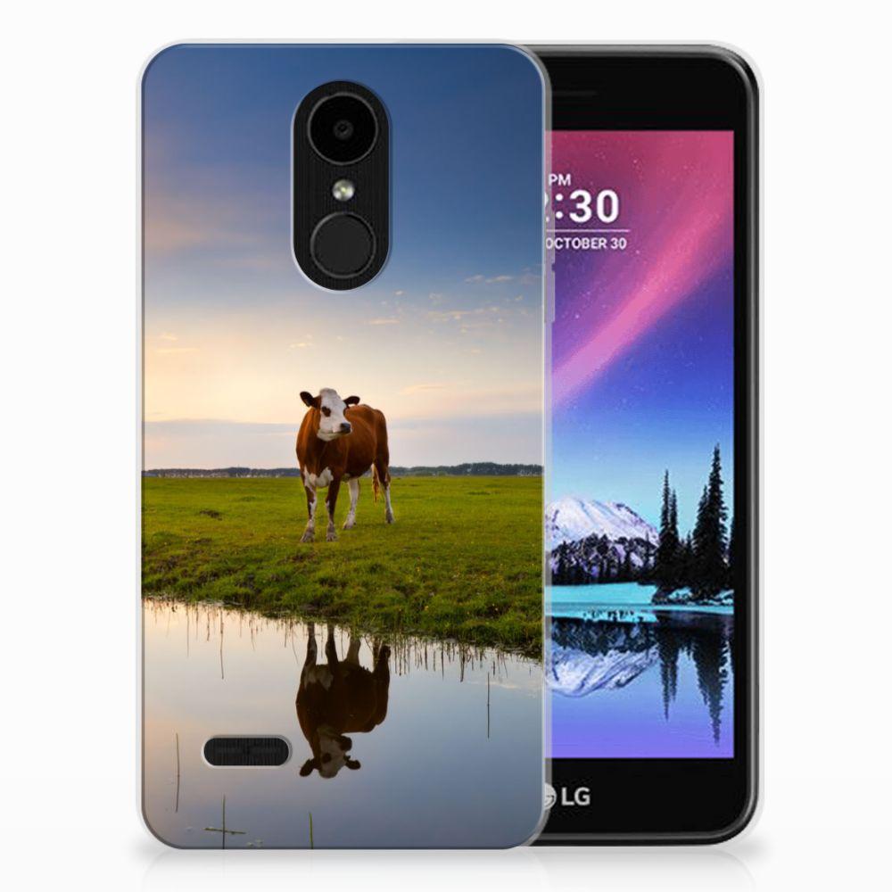LG K4 (2017) TPU Hoesje Design Koe