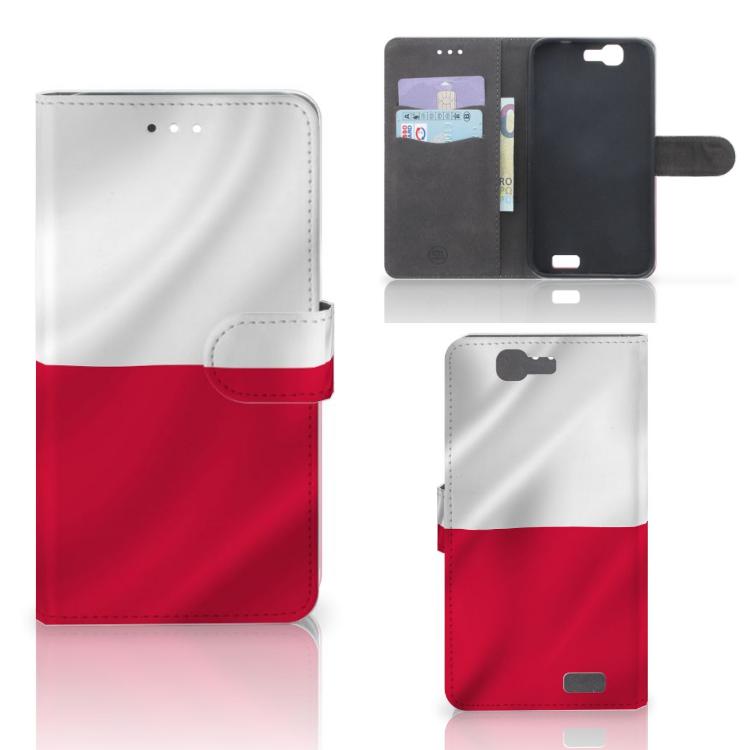 Huawei Ascend G7 Bookstyle Case Polen