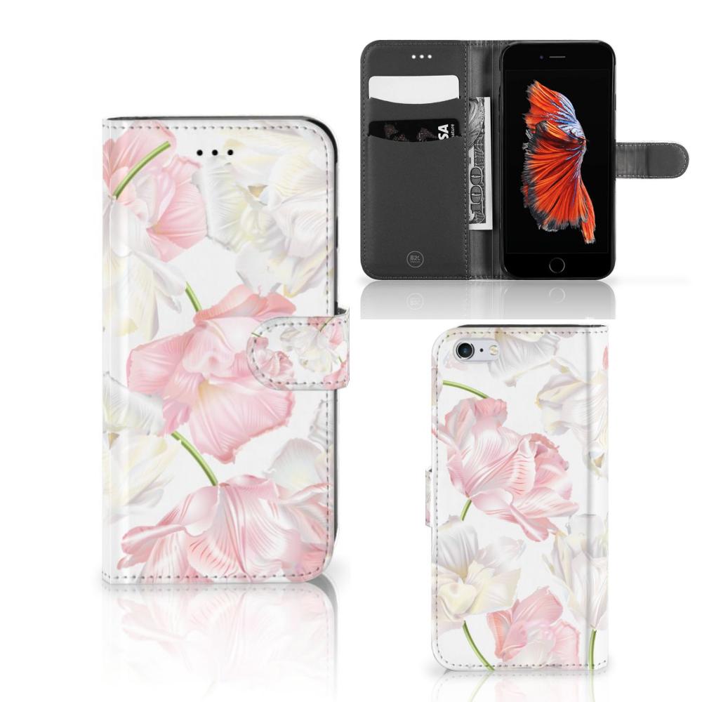 Apple iPhone 6 Plus | 6s Plus Hoesje Lovely Flowers