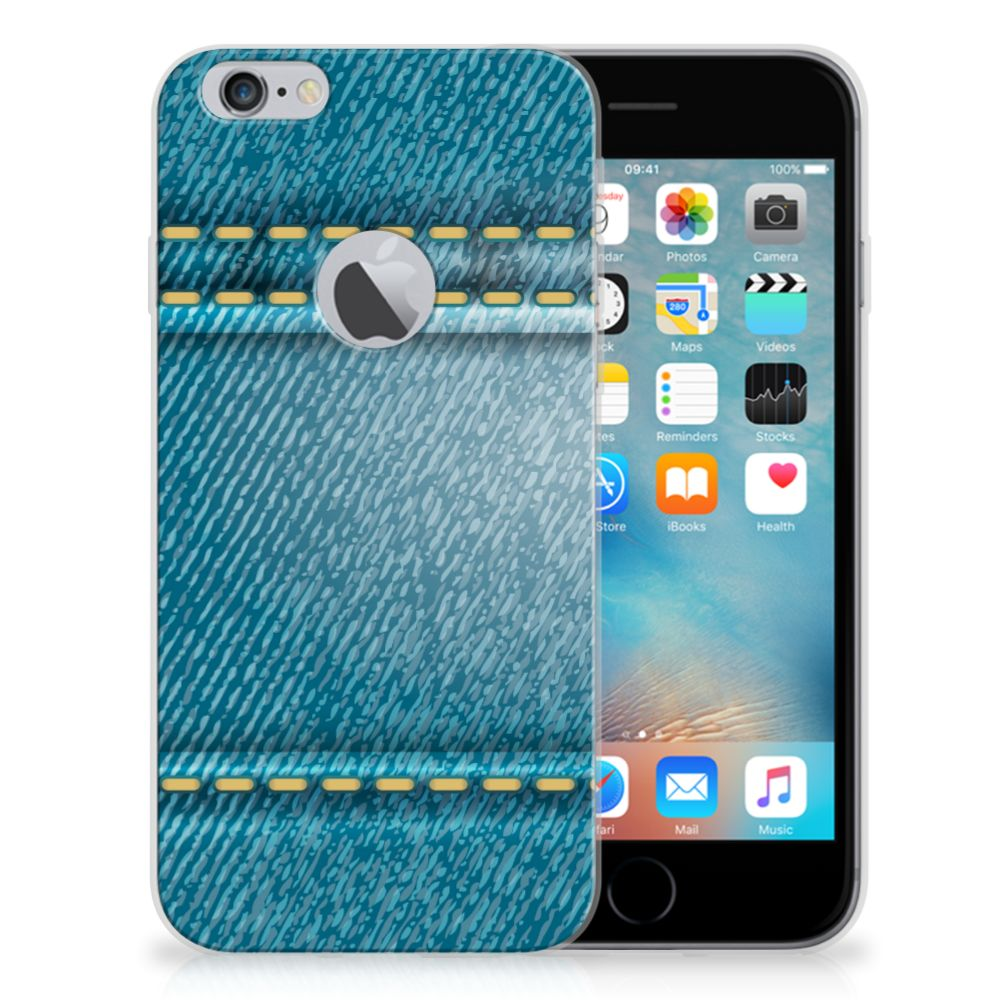 Apple iPhone 6 Plus | 6s Plus Silicone Back Cover Jeans