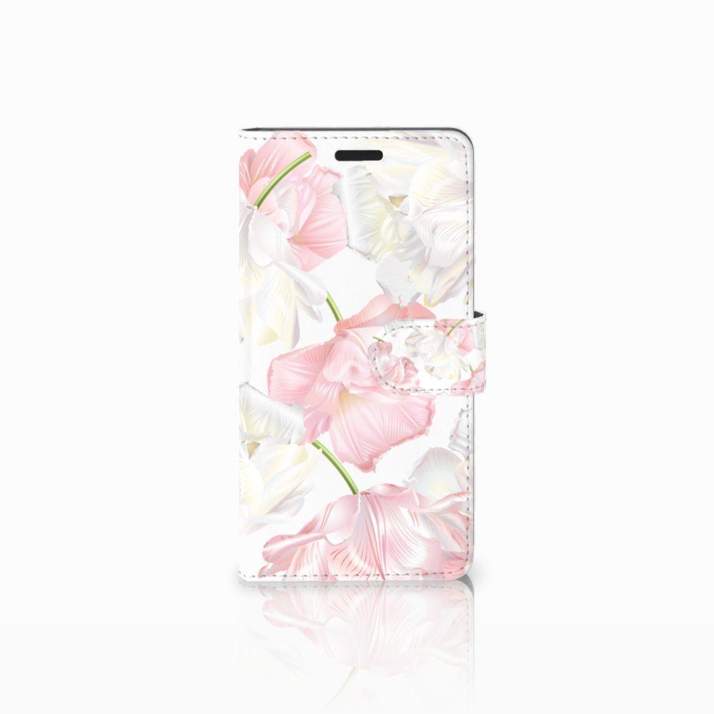 Samsung Galaxy A7 2015 Boekhoesje Design Lovely Flowers