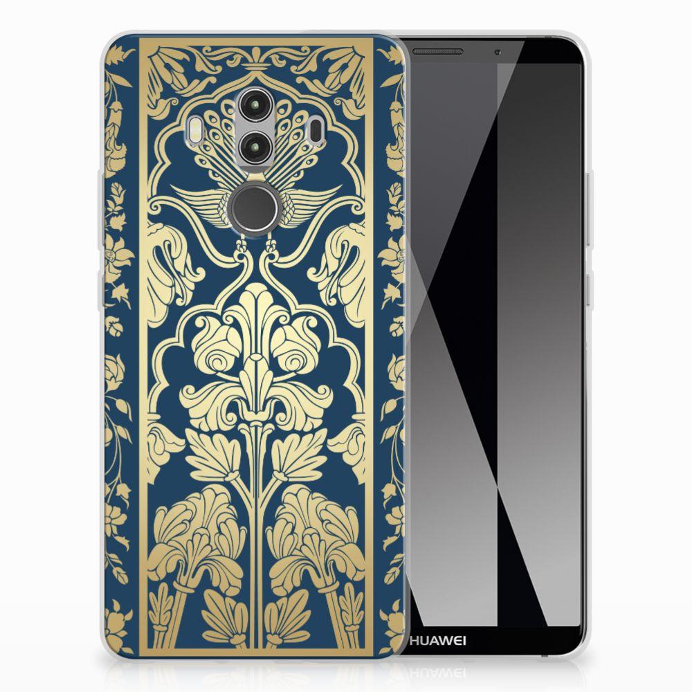 Huawei Mate 10 Pro TPU Case Golden Flowers