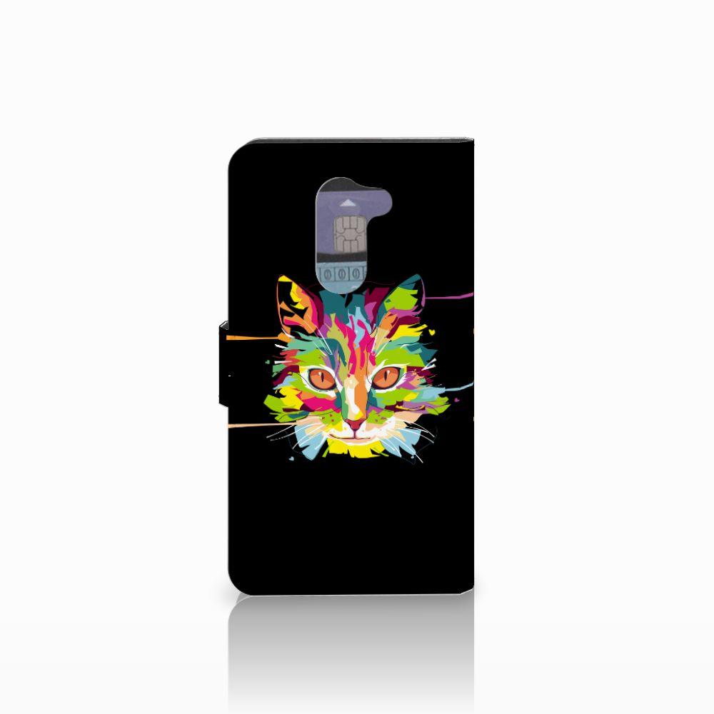 Huawei Honor 6X Leuke Hoesje Cat Color