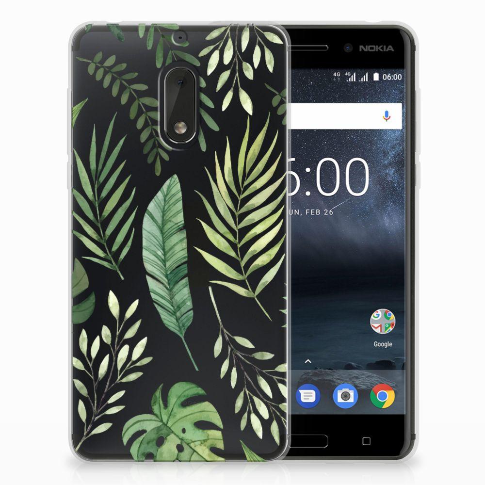 Nokia 6 TPU Case Leaves