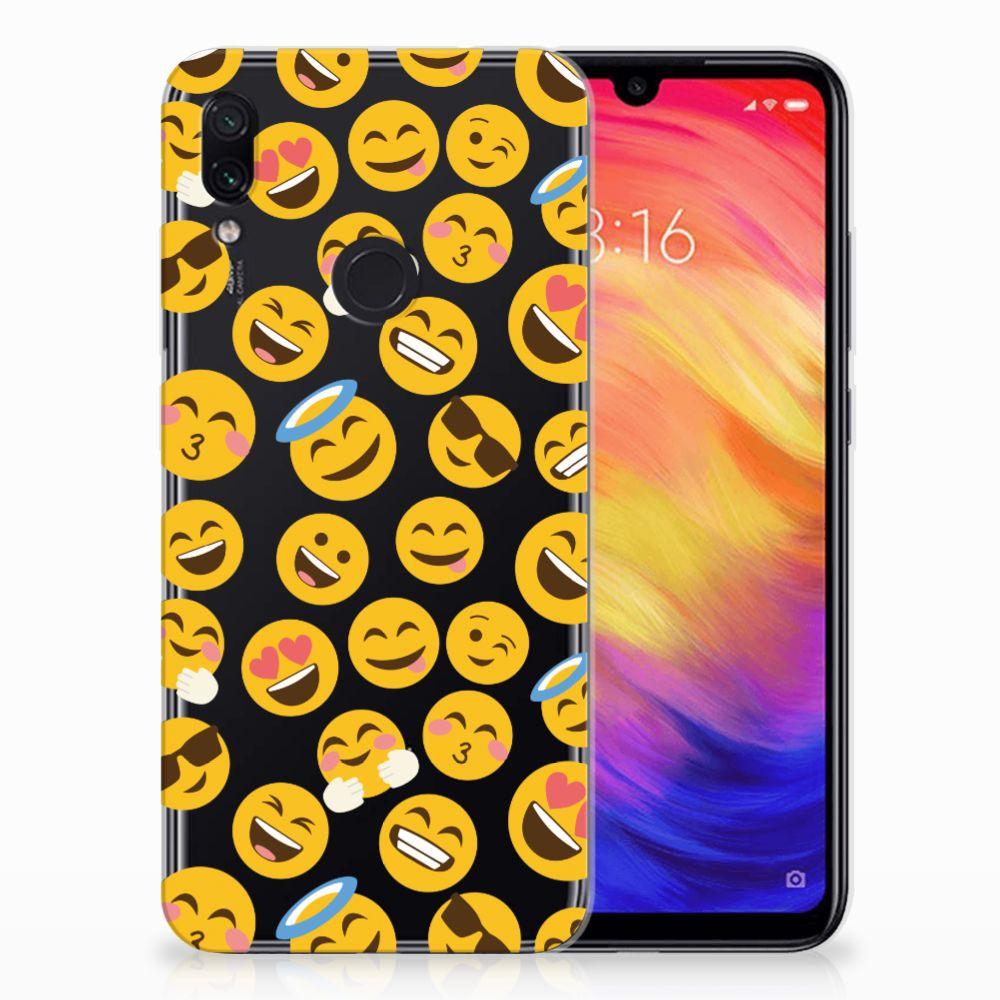 Xiaomi Redmi Note 7 Pro TPU bumper Emoji