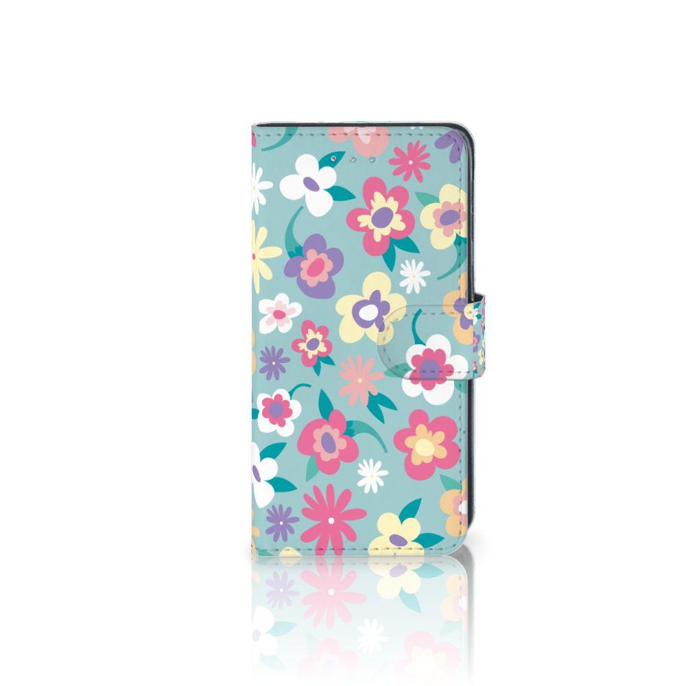 Samsung Galaxy J3 2016 Boekhoesje Design Flower Power