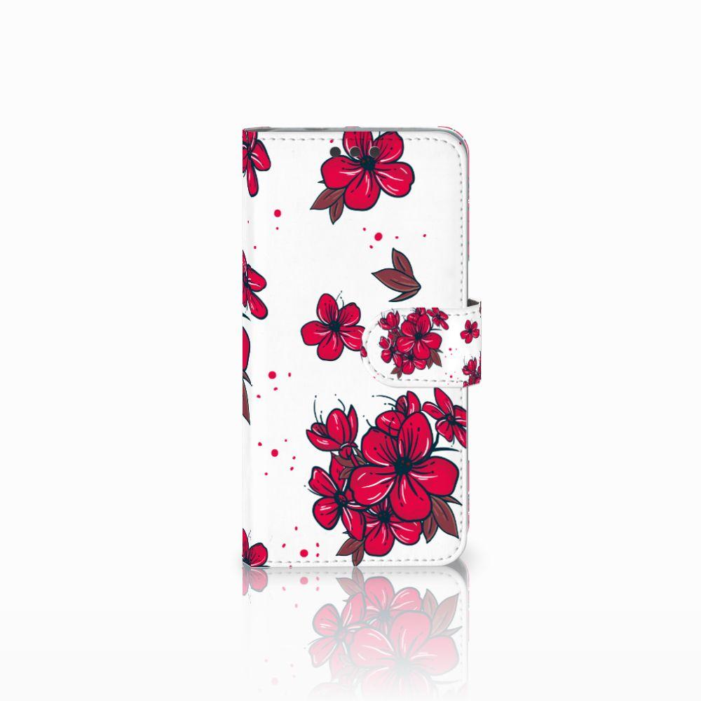 Microsoft Lumia 650 Boekhoesje Design Blossom Red
