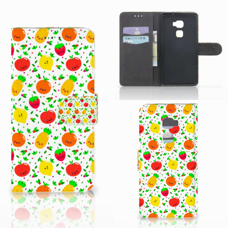 Huawei Mate S Book Cover Fruits