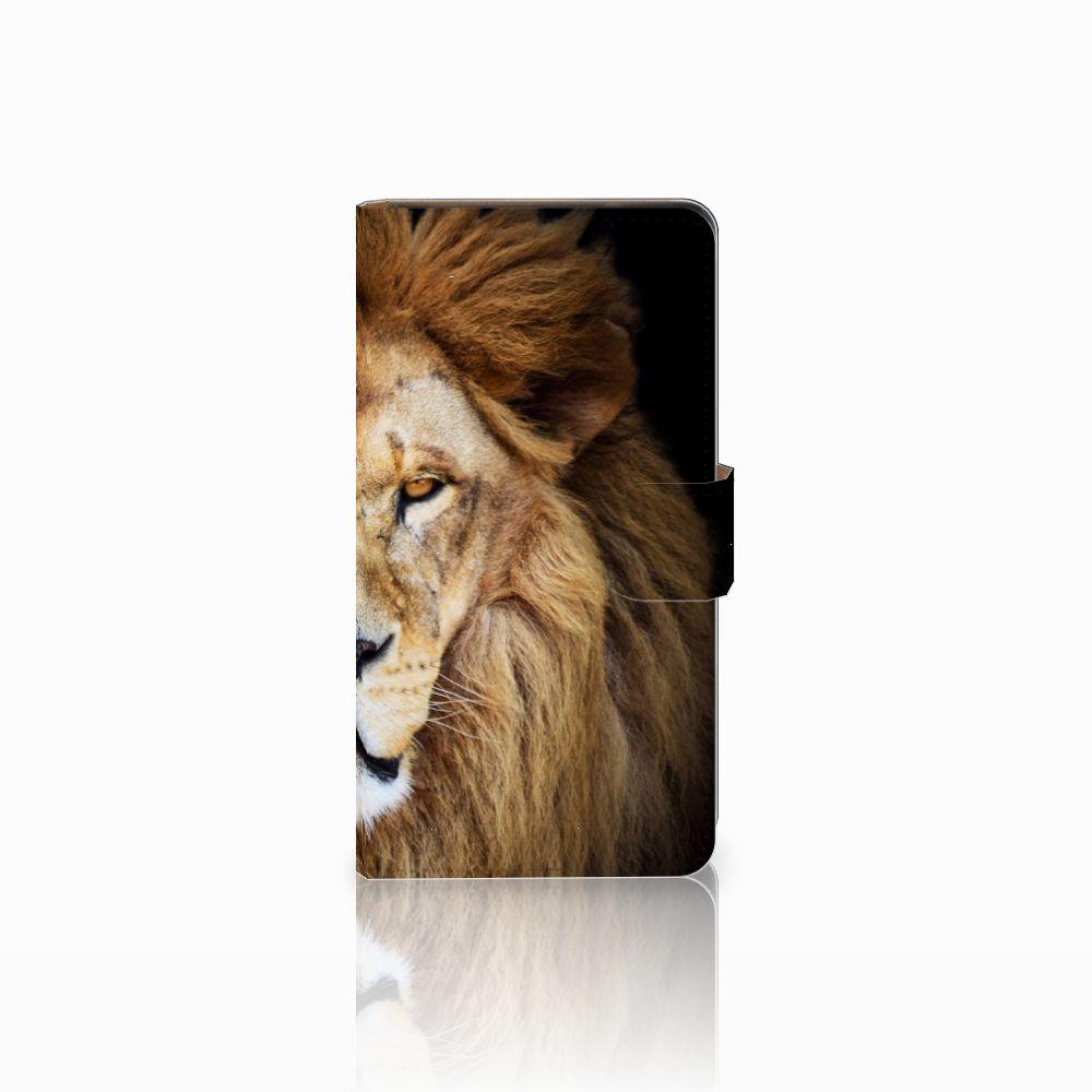 Huawei Ascend G700 Boekhoesje Design Leeuw