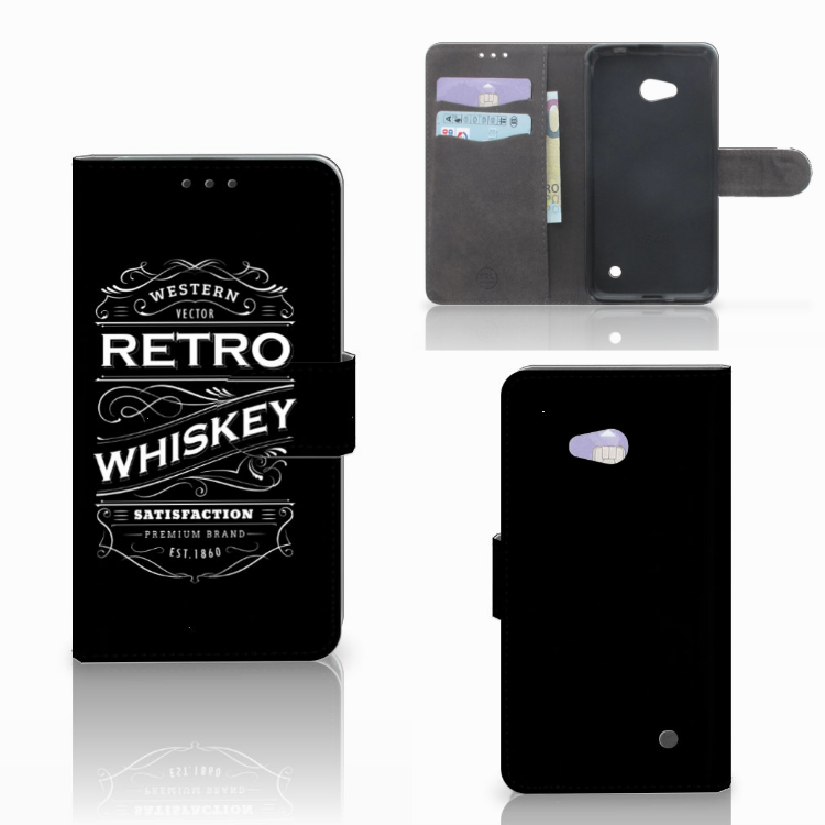 Microsoft Lumia 640 Book Cover Whiskey