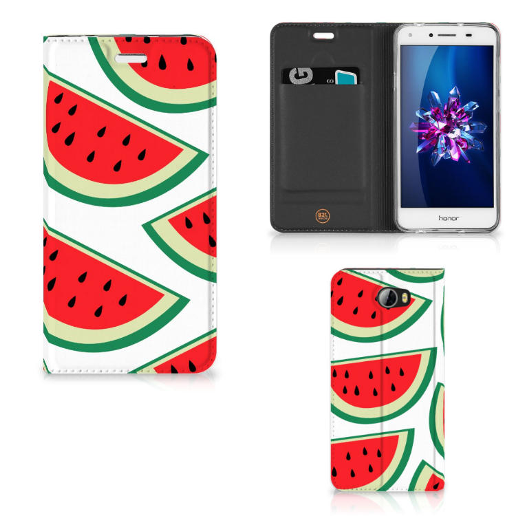 Huawei Y5 2   Y6 Compact Flip Style Cover Watermelons