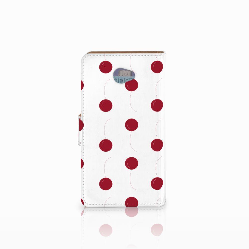 HTC Desire 601 Book Cover Cherries