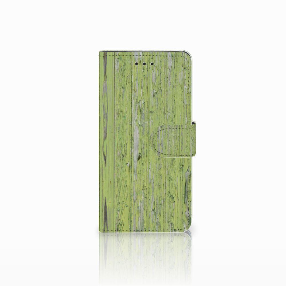 Huawei Y5 2018 Boekhoesje Design Green Wood
