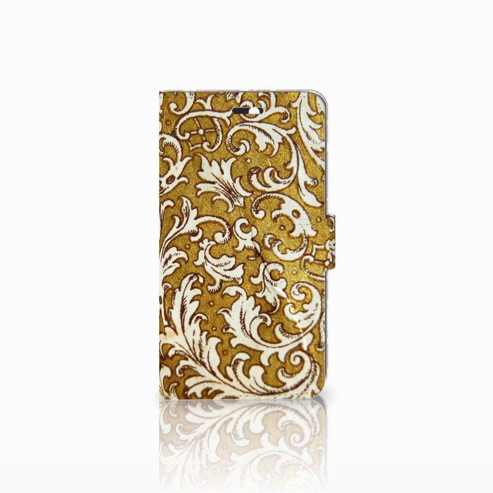 Huawei Y6 II   Honor 5A Boekhoesje Design Barok Goud