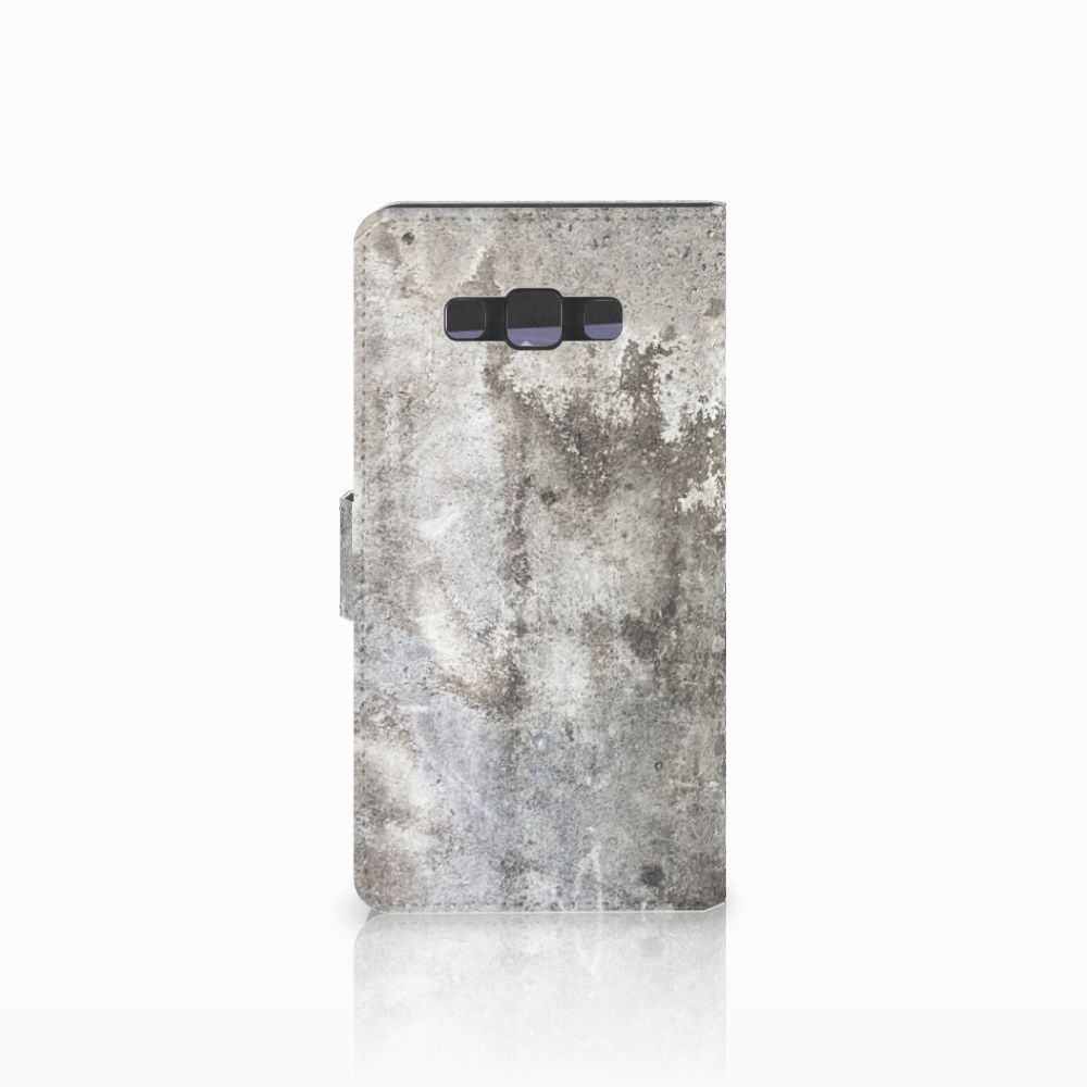 Samsung Galaxy A7 2015 Bookcase Beton Print