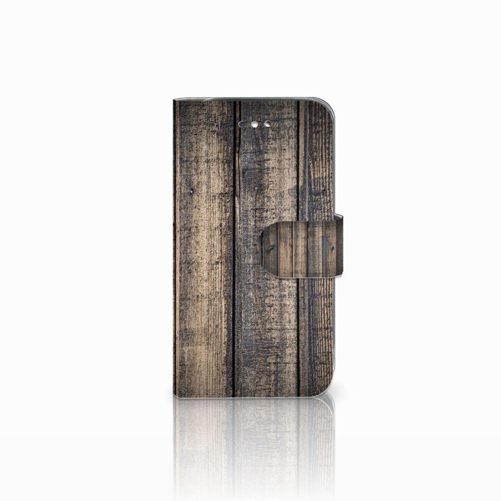 Samsung Galaxy S4 Boekhoesje Design Steigerhout