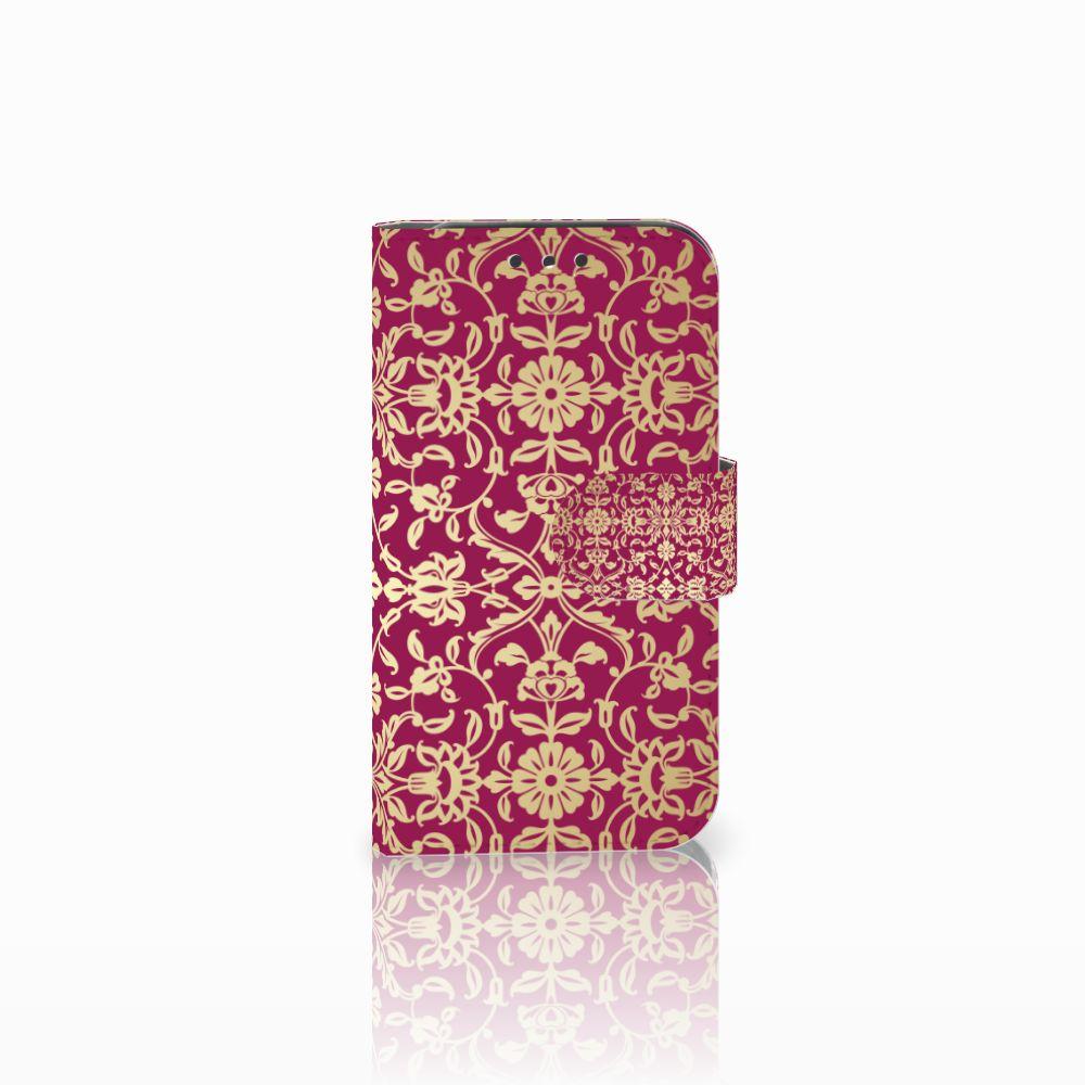 Lenovo B Boekhoesje Design Barok Pink