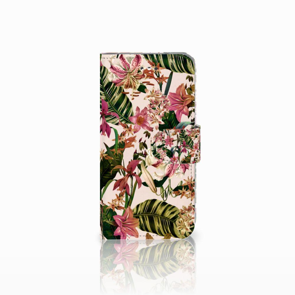 LG X Screen Uniek Boekhoesje Flowers