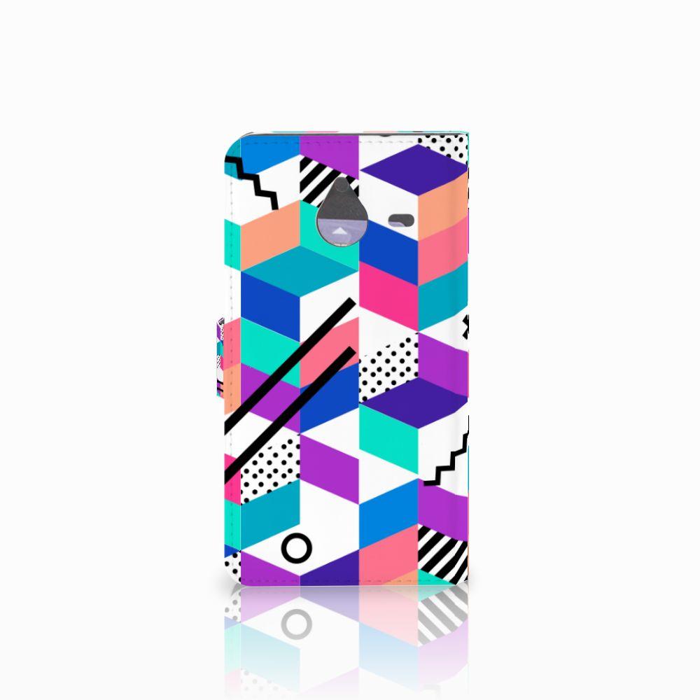 Microsoft Lumia 640 XL Bookcase Blokken Kleurrijk