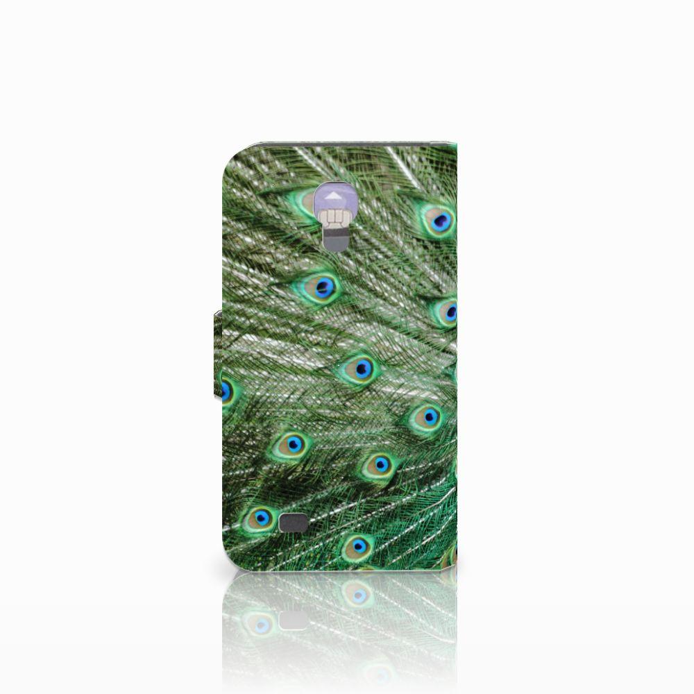 Samsung Galaxy S4 Telefoonhoesje met Pasjes Pauw