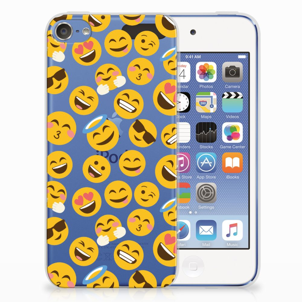 Apple iPod Touch 5 | 6 TPU bumper Emoji