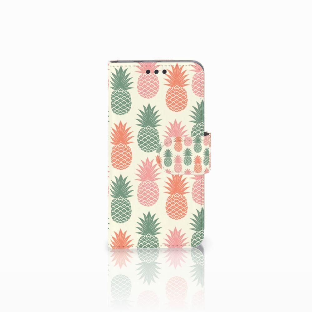 Sony Xperia Z3 Compact Boekhoesje Design Ananas