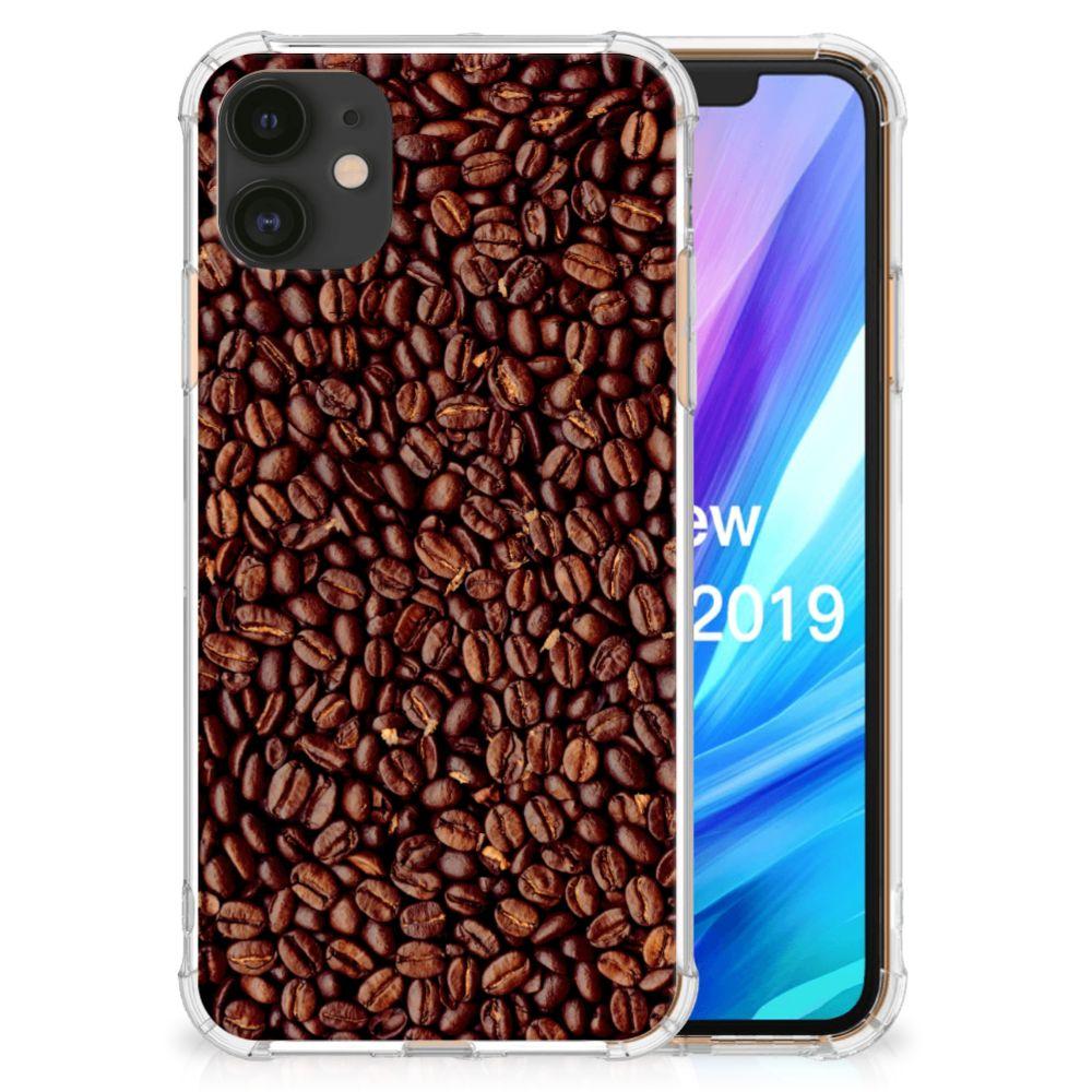 Apple iPhone 11 Beschermhoes Koffiebonen