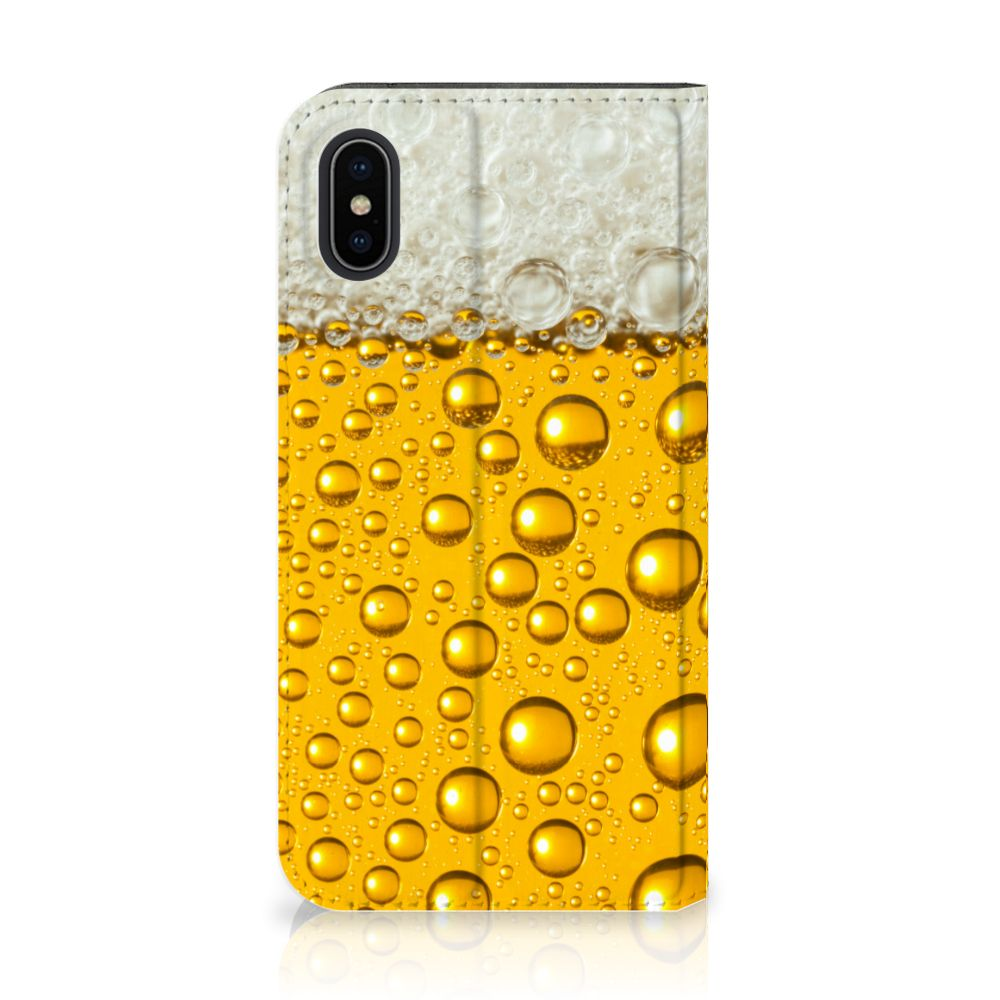Apple iPhone X | Xs Uniek Standcase Hoesje Bier