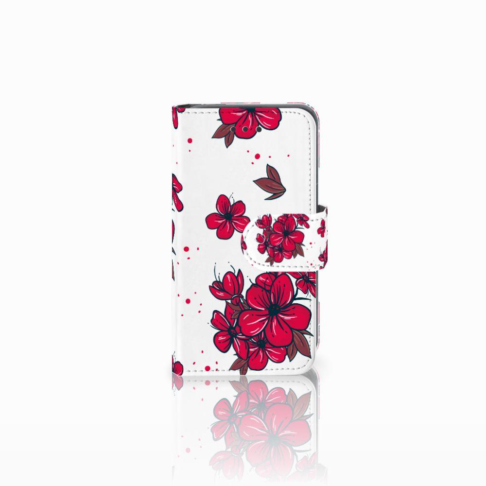 Nokia Lumia 530 Boekhoesje Design Blossom Red