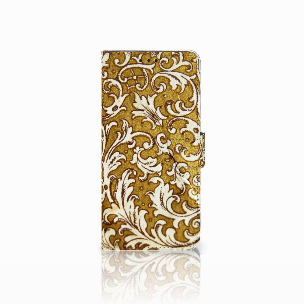 Huawei Nova 4 Boekhoesje Design Barok Goud