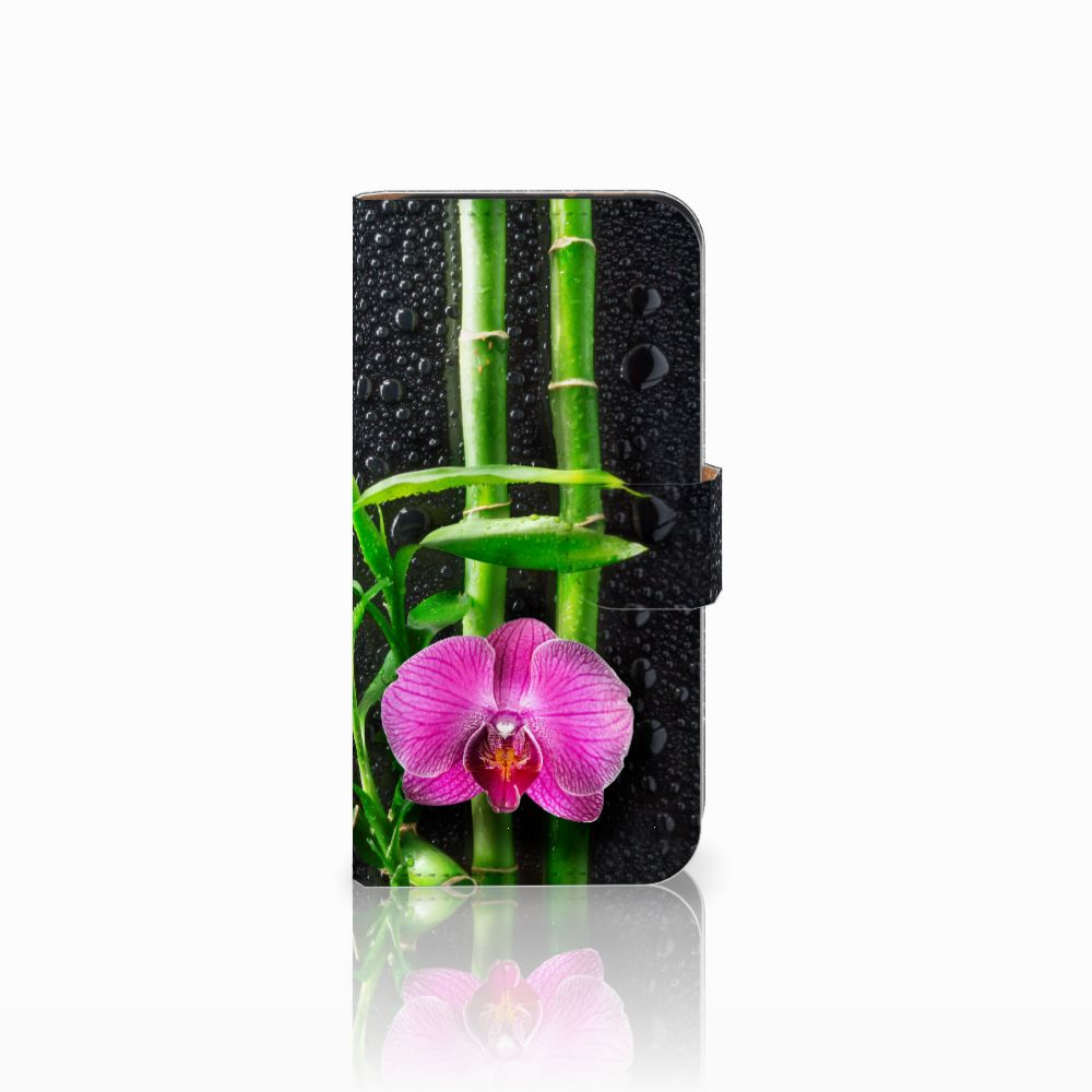HTC One Mini 2 Boekhoesje Design Orchidee