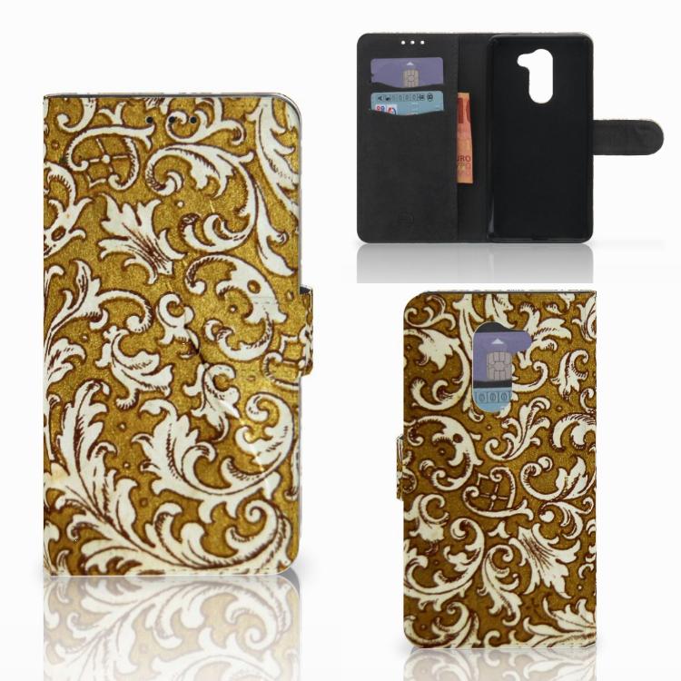Wallet Case Huawei Honor 6X Barok Goud