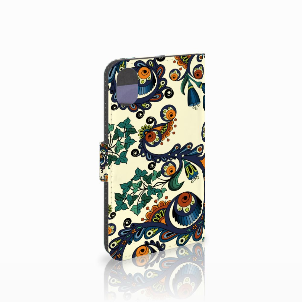 Apple iPhone X | Xs Boekhoesje Design Barok Flower