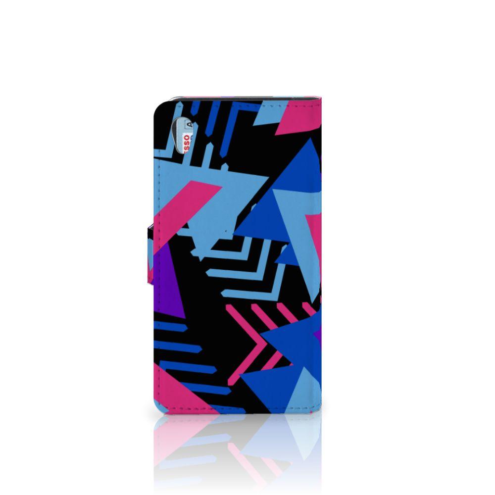 Sony Xperia Z2 Bookcase Funky Triangle